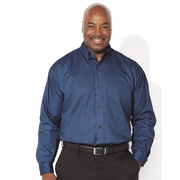 Promotional FeatherLite(R) Long Sleeve Twill Shirt Tall Sizes