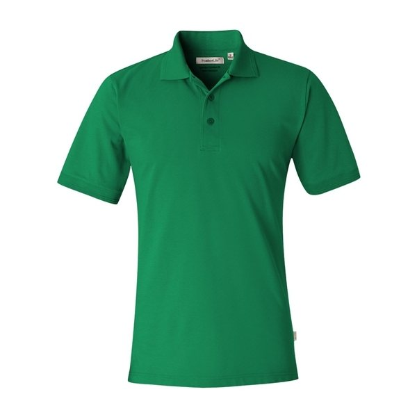 Promotional FeatherLite(R) Short Sleeve Platinum Pique Sport Shirt