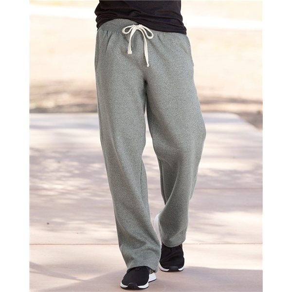 Promotional Weatherproof Cross Weave(R) Open Bottom Sweatpant