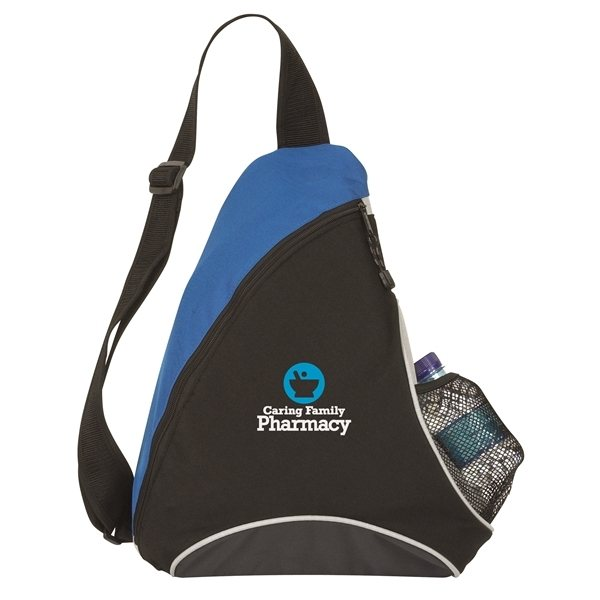 Promotional Cutie Patootie Polyester Slingpack - 13 x 17