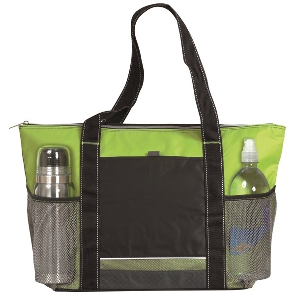 Promotional Icy Bright Nylon Cooler Tote Bag - 24 Can