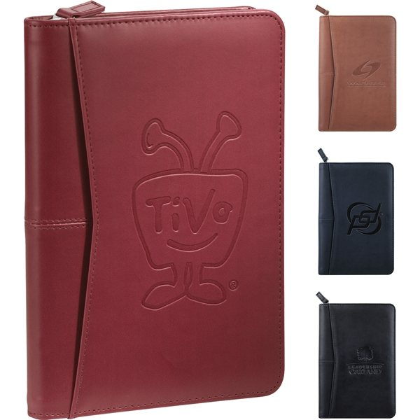 Promotional Pedova Jr. Zippered Padfolio