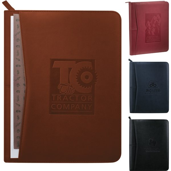 Promotional Pedova(TM) Zippered Padfolio