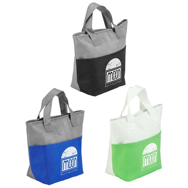 Promotional Santa Ana Insulated Snack Tote