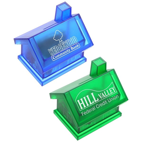 Promotional Happy Home Coin Bank