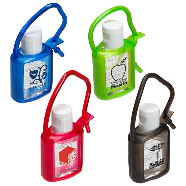 Promotional Cool Clip Hand Sanitizer