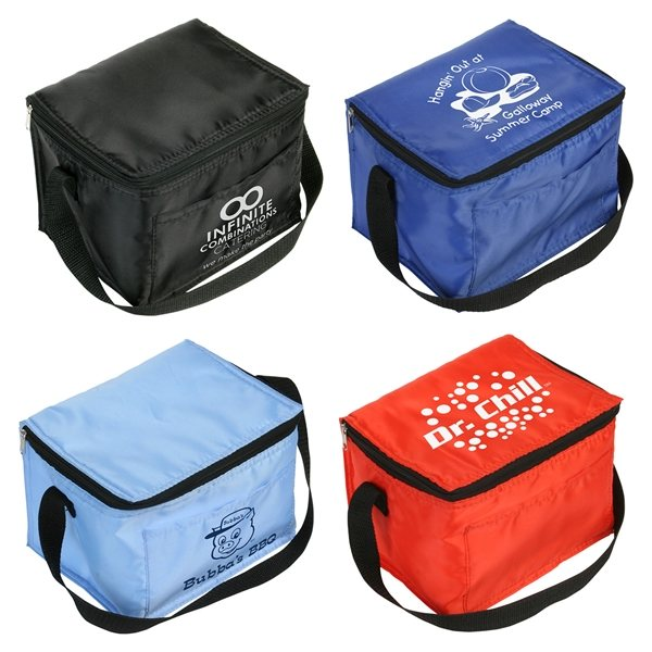 Promotional Snow Roller 6- Pack Cooler Bag
