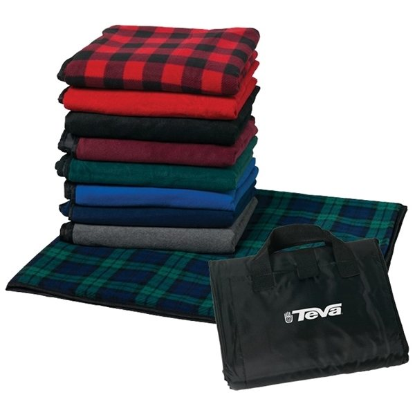 Promotional Fleece Picnic Blanket