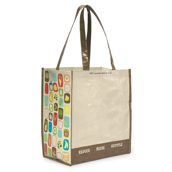 Promotional Laminated 100 Recycled Shopper