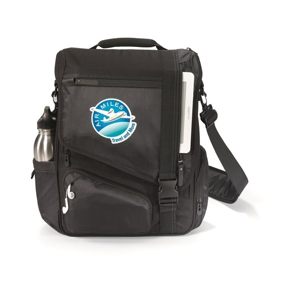 Promotional Life in Motion(TM) Momentum Computer Messenger Bag