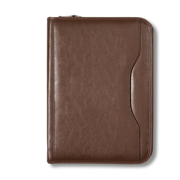 Deluxe Executive Vintage Leather Padfolio Customized