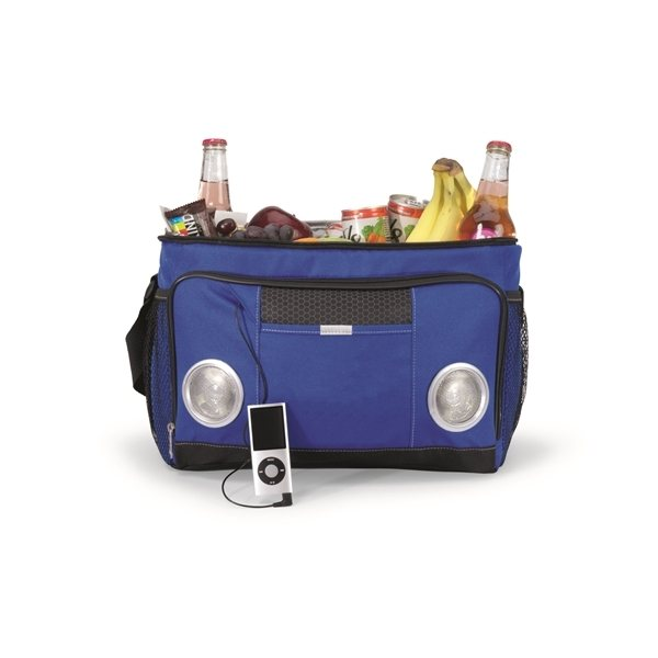 Promotional Encore Music Cooler Bag - Royal Blue