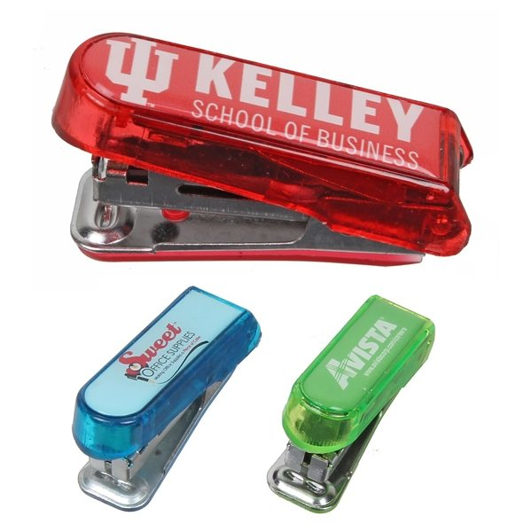 Promotional Mini Stapler w / Remover 2-1/4 x 3/4