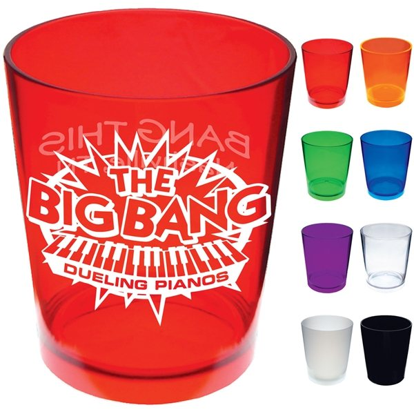 Promotional Clear Styrene Plastic 12 oz Cup
