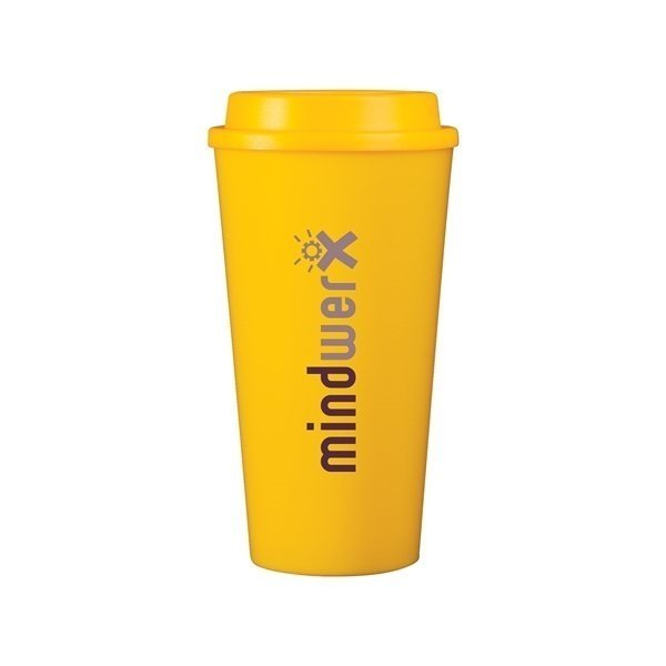 Promotional 16 oz Cup2go - yellow
