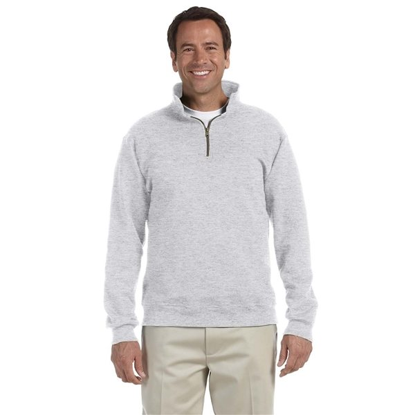 Promotional JERZEES(R) 9.5 oz Super Sweats(R) NuBlend(R) Fleece Quarter - Zip Pullover