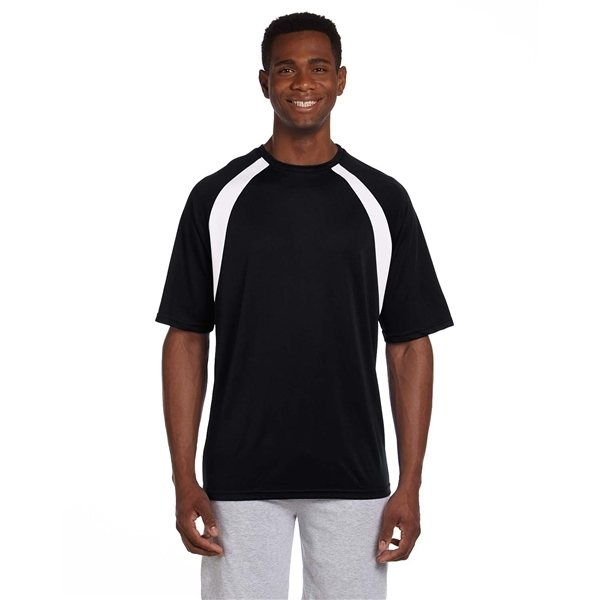Promotional Harriton 4.2 oz Athletic Sport Colorblock T - Shirt