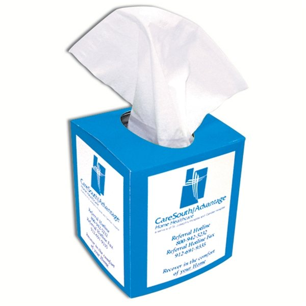 Promotional Tissue Box Sleeve - Paper Products