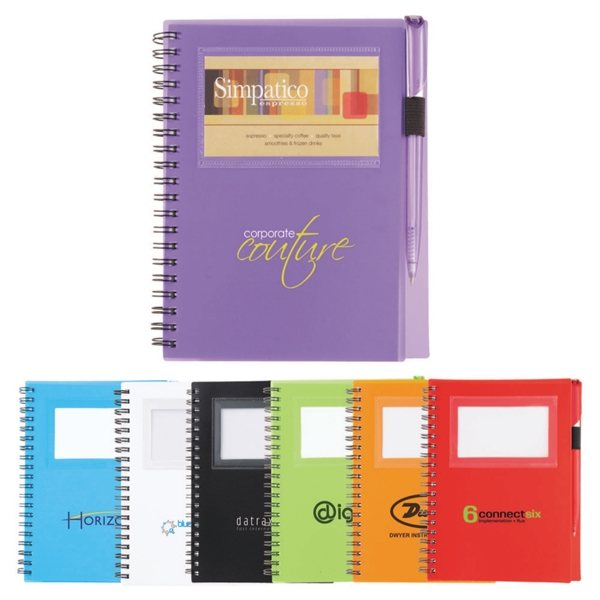 Promotional The Star Notebook With Ballpoint Pen