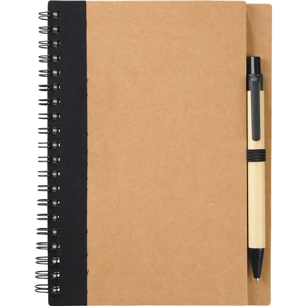 Promotional The Eco Spiral Notebook With Pen