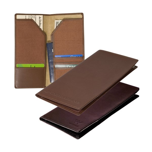 Promotional Liberty Travel Wallet (cowhide)