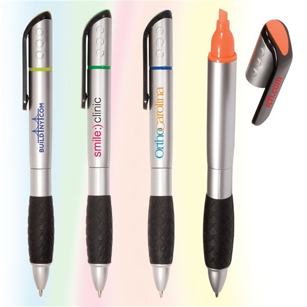 Promotional Silvermine Pen / Highlighter