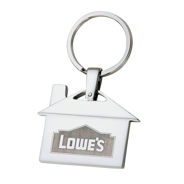 Promotional House shaped key chain