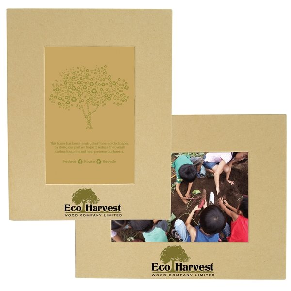 Promotional Recycled Paper Easel Frame