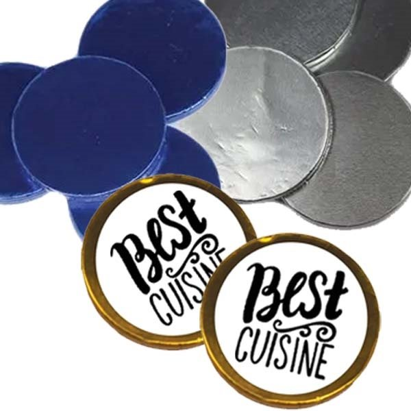 Promotional chocolate coins