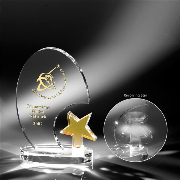 Promotional Clearaward Spinning Star