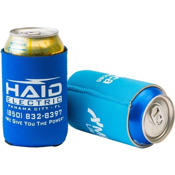 Promotional FoamZone Neoprene Collapsible Can Cooler