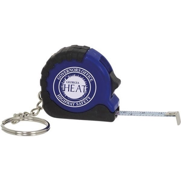 Promotional 3ft Mini Tape Measure with Key Ring