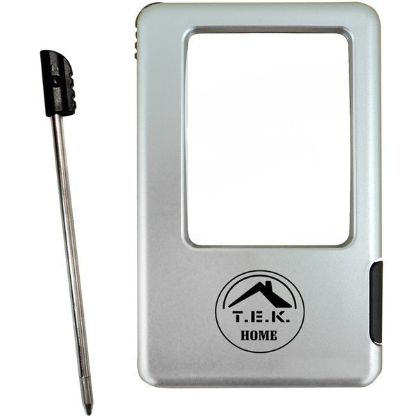 Promotional Magnifier With Light Stylus