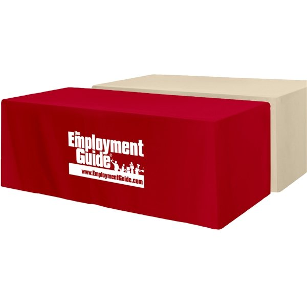 Promotional Fitted 3- Sided Table Cover 8