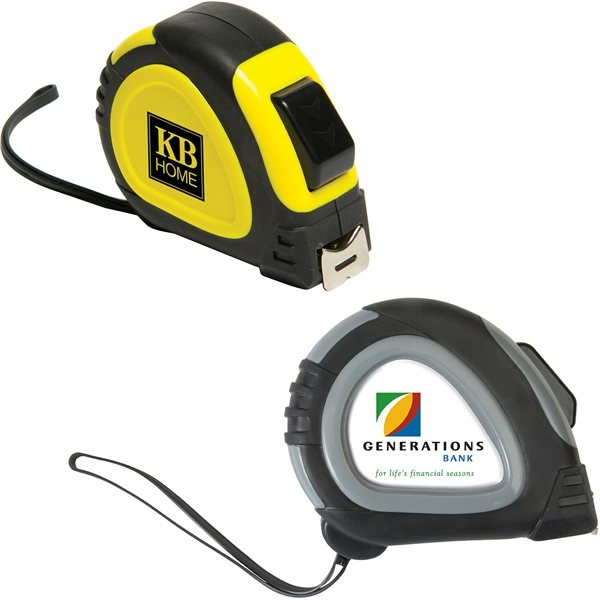 Promotional 25 Foot Locking Tape Measure