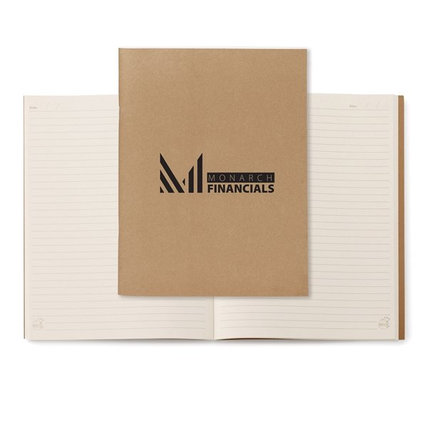 Promotional Natural Large Eco Notebook