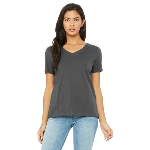 Promotional BELLA + CANVAS Relaxed Jersey Short - Sleeve V - Neck T - Shirt - 6405 - COLORS
