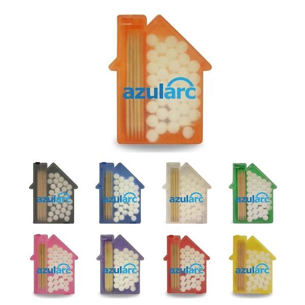 Promotional House Shaped Pick n Mints