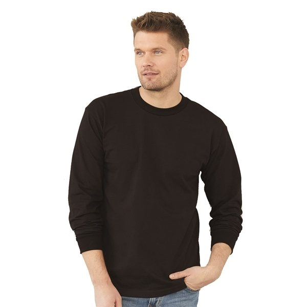 Promotional Bayside Long Sleeve T - shirt - COLORS