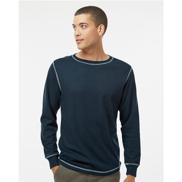 Promotional J. America Vintage Long Sleeve Thermal T - shirt - COLORS