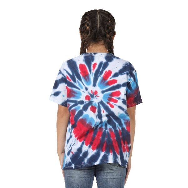 Promotional Dyenomite Youth Rainbow Cut - Spiral T - shirt - COLORS