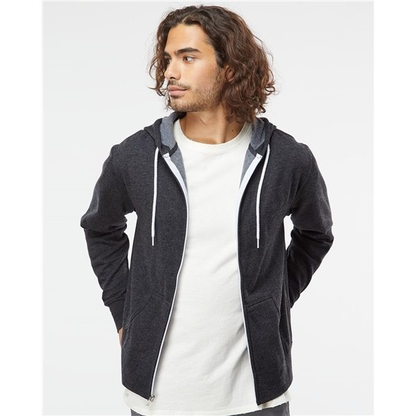 Promotional Independent Trading Unisex Full - Zip Hooded Sweatshirt - COLORS