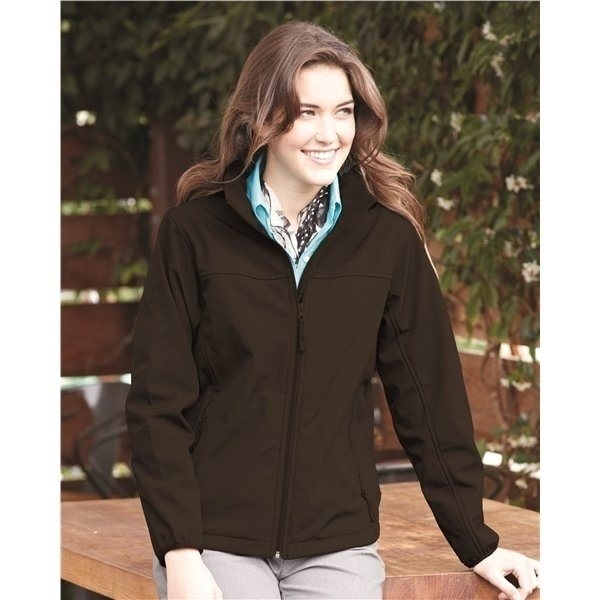 Promotional Weatherproof Ladies Soft Shell Jacket