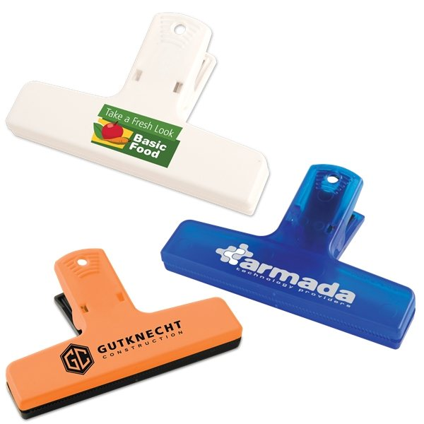 Promotional 4 Multi - Purpose Clip With Magnet Option