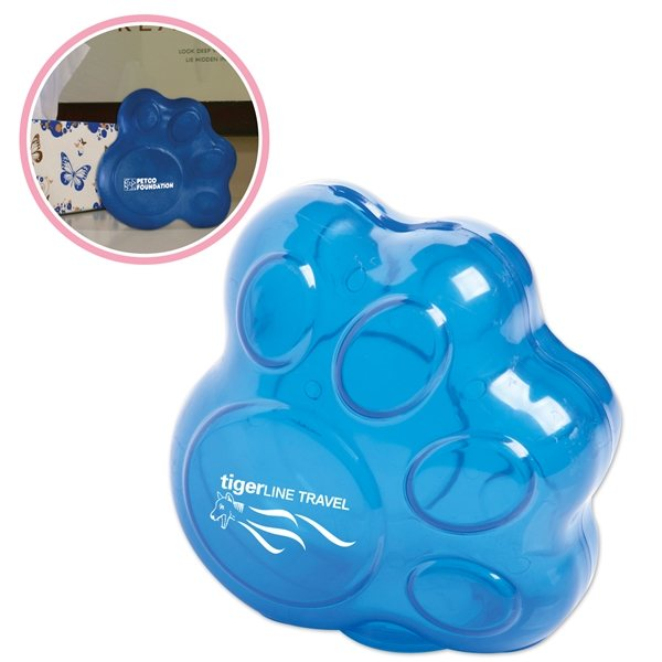 Promotional Paw Bank with Twist - Off Bottom Plug