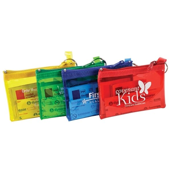 Promotional 8 Pieces Rainbow First Aid Kit