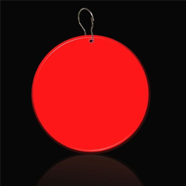 Promotional 2 1/2 MEDALLION BADGES - RED CIRCLE