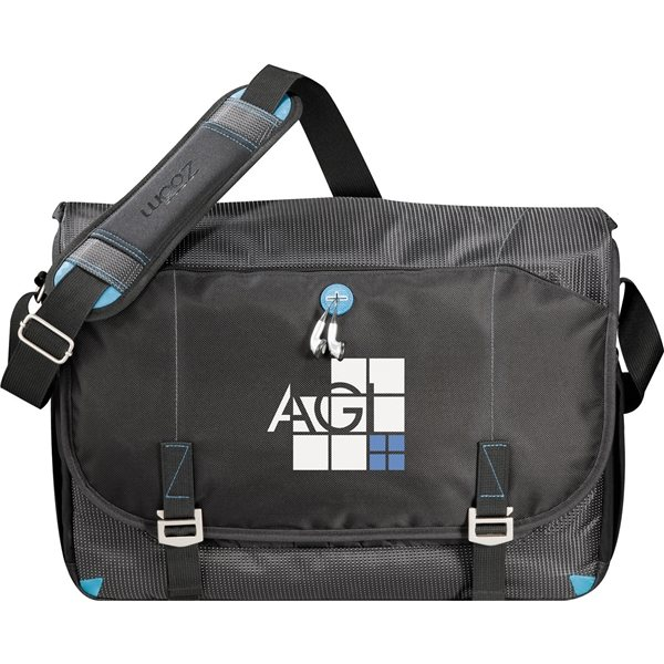 Promotional Zoom(R) TSA 17 Computer Messenger Bag