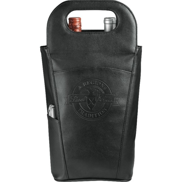 Promotional Belgio Insulated Double Wine Tote