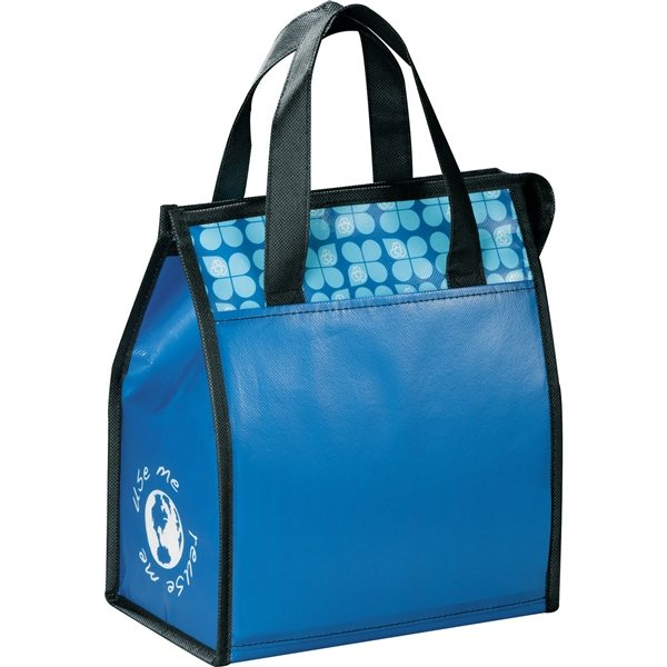 Promotional Laminated Non - Woven 6 Can Lunch Cooler